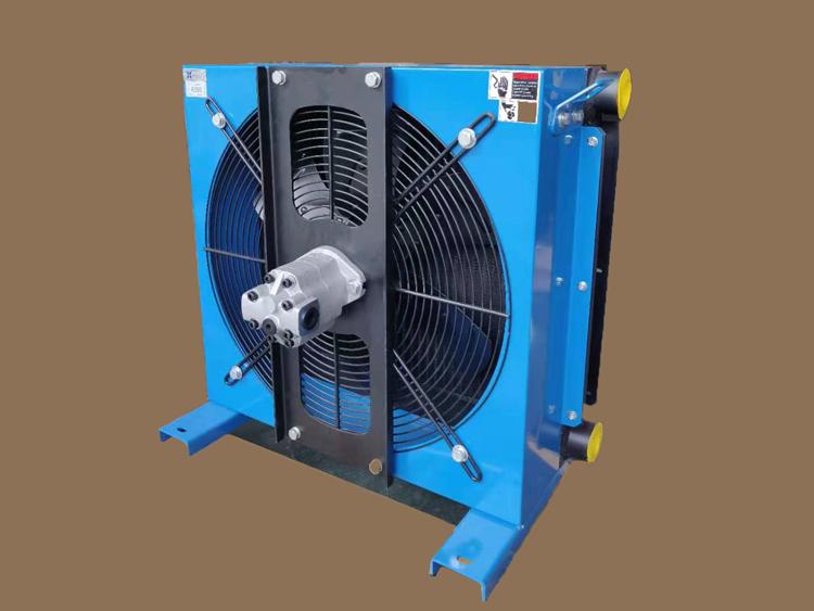 液压马达风冷却器